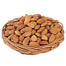 Almonds Basket: Send Gift Baskets to Ahmedabad