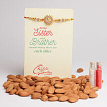Almonds Special Rakhi Combo: Send Rakhi to Adoni