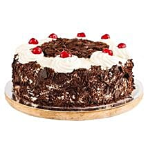 Ambrosial Black Forest Cake: 25Th Anniversary Cakes