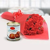 Appetizing Combo: Send Flowers & Sweets - Christmas