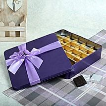 Assorted Chocolates Purple Box: Gifts for 60Th Birthday