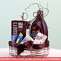 Assorted Goodies Hershey's Gift Basket: Send Bhai Dooj Gift Hampers