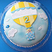 Baby in Balloon Cake: cake delivery in Barabanki