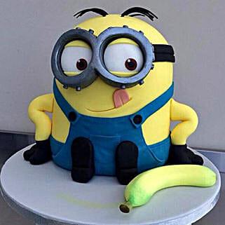 Banana N Bob Minion Cake: Cartoon Cakes