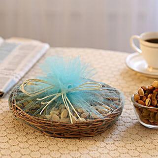 Basket of Nuts: Sargi for Karwa Chauth