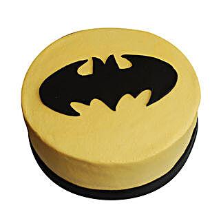 Batman Symbol of Ecstasy Cake: Cake Delivery in Thoppumpady