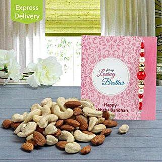 Beads And Nuts: Designer Rakhi