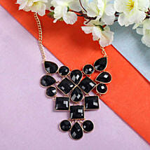 Beautiful Black Necklace: Rakhi to Anand