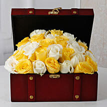 Beautiful Box Of Roses: