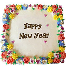 Beautiful Happy New Year Cream Cakes: New Year Gifts