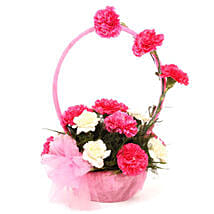 Beautiful In Pink: Send Valentine Flowers to Ambala