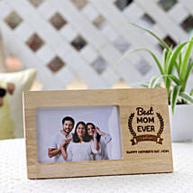 Best Mom Ever Photo Frame for Mother's Day: Personalised Photo Frames for Mothers Day