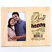 Best Mom In The World Photo Frame: