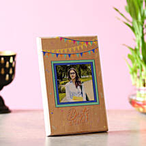 Best Wishes Personalised Plaque: