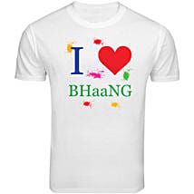 BHaaNG Special T Shirt: Holi Gifts to Lucknow