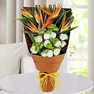 Bird Of Paradise Bunch: Designer Bouquet