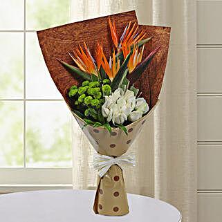 Bird Of Paradise Special Bunch: Designer Bouquet