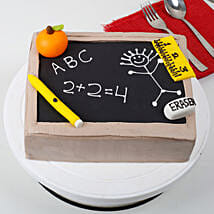 Black Board Special Fathers Day Cake: Designer Cakes for Birthday