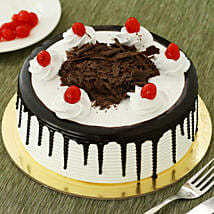 Black Forest Cake: Send Valentine Gifts to Haldwani