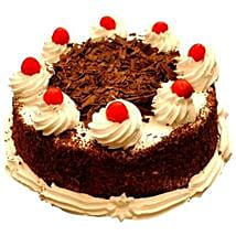Black Forest Delight: New Year Cakes Ahmedabad