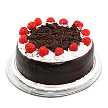 Black Forest with Cherry: Send New Year Cakes to Ahmedabad