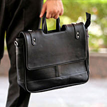 Black Office Bag: Birthday Gifts for Employees