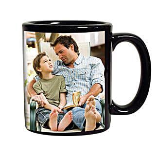 Black Personalized Coffee Mug: Fathers Day Mugs