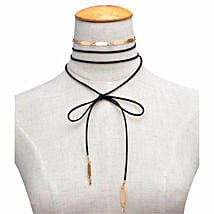 Black Tie Up Choker: Sister