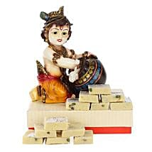 Blissful Bal Krishna: Send Handicraft Gifts to Delhi