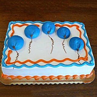 Blue Flying Balloon Cake: Cakes to Thoppumpady