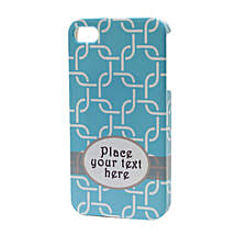 Blue Personalized iPhone Case: Send Personalised Mobile Covers