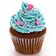 Blue Pink Fantasy Cupcakes: Eggless cakes for anniversary