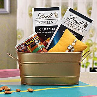 Bon Appetite Rakhi Gift: Rakhi Gifts to Faridkot