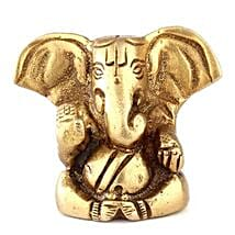Brass Ganesha Statue: Send Diwali Gifts to Udupi