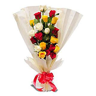 Bright n Brimming: Mixed Roses