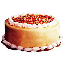Butter Scotch Delight Cake: New Year Cakes Dehradun