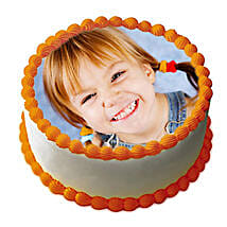 Butterscotch Photo Cake: Send Photo Cakes to Bengaluru