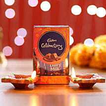 Cadbury Celebrations Pack & Diyas: Diwali Chocolates