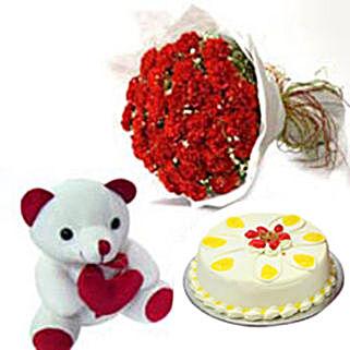 Carnation of Paradise: Send Flowers & Teddy Bears to Gurgaon