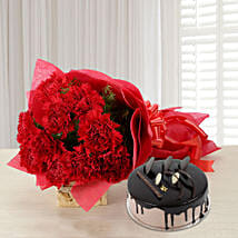 Carnations of Love: Flowers & Cakes Noida