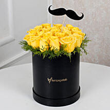 Cheerful Yellow Roses For Him: Friendship Day Flowers