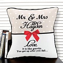 Cherishment of Love: Send Personalised Cushions for Wife