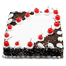 Cherry Blackforest Cake: New Year Cakes Dehradun