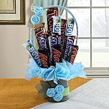 Chocolate Bar Bouquet: Mothers Day Chocolate Bouquet