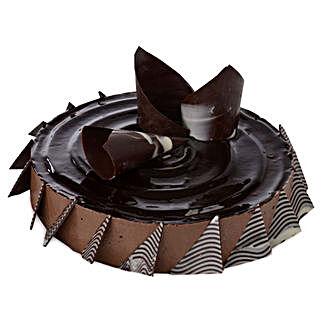 Chocolate Cheese Cake: New Year Cakes Faridabad