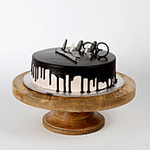 Chocolate Cream Cake: Valentine Gifts Haldwani
