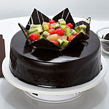 Chocolate Fruit Gateau: Cake Delivery in Jagdalpur