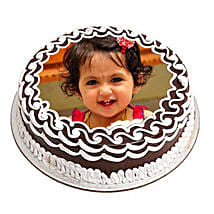 Chocolate Photo Cake: Send Personalised Gifts to Varanasi