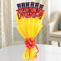 Chocolate Pie Bouquet: Chocolates for Karwa Chauth
