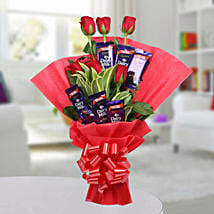 Chocolate Rose Bouquet: Gifts to Manipal